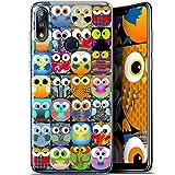 Claude Owls Ultra Slim Case for 5.7 Inch Asus Zenfone 3
