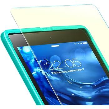 ESR iPad Mini / Mini2 / Mini3 ガラスフィルム ブルーライト 92% カット 3倍強化 旭硝子 液晶保護 9H スクラッチ防止 指紋拭きやすい 気泡自動排除 自動吸着 貼り付け枠付き アイパッド ミニ123 専用保護フィルム