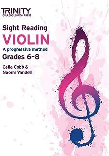 Trinity College London Sight Reading Violin: Grades 6-8