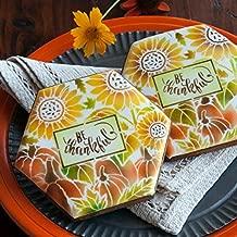 Autumn Harvest Prettier Plaques Cookie Stencil Set by Julia Usher