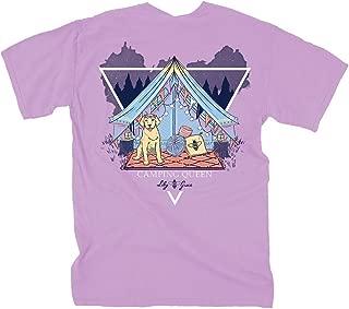 Camping Queen Petal - Petal | Women's Topside Cotton T-Shirt