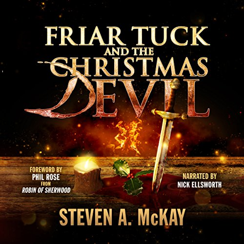 Friar Tuck and the Christmas Devil audiobook cover art