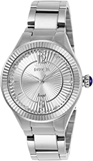 Invicta Women's Angel Quartz Watch with Stainless-Steel Strap, Silver, 15.8 (Model: 28328)
