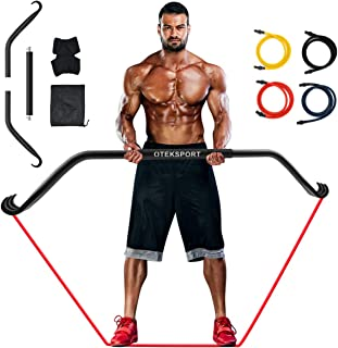 OTEKSPORT Gorilla Bow Home Gym Portable Resistance Bands Set, Fitness Equipment System with Full Body Workout, Weightlifti...