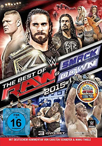WWE - Best of RAW & Smackdown 2015 [3 DVDs]