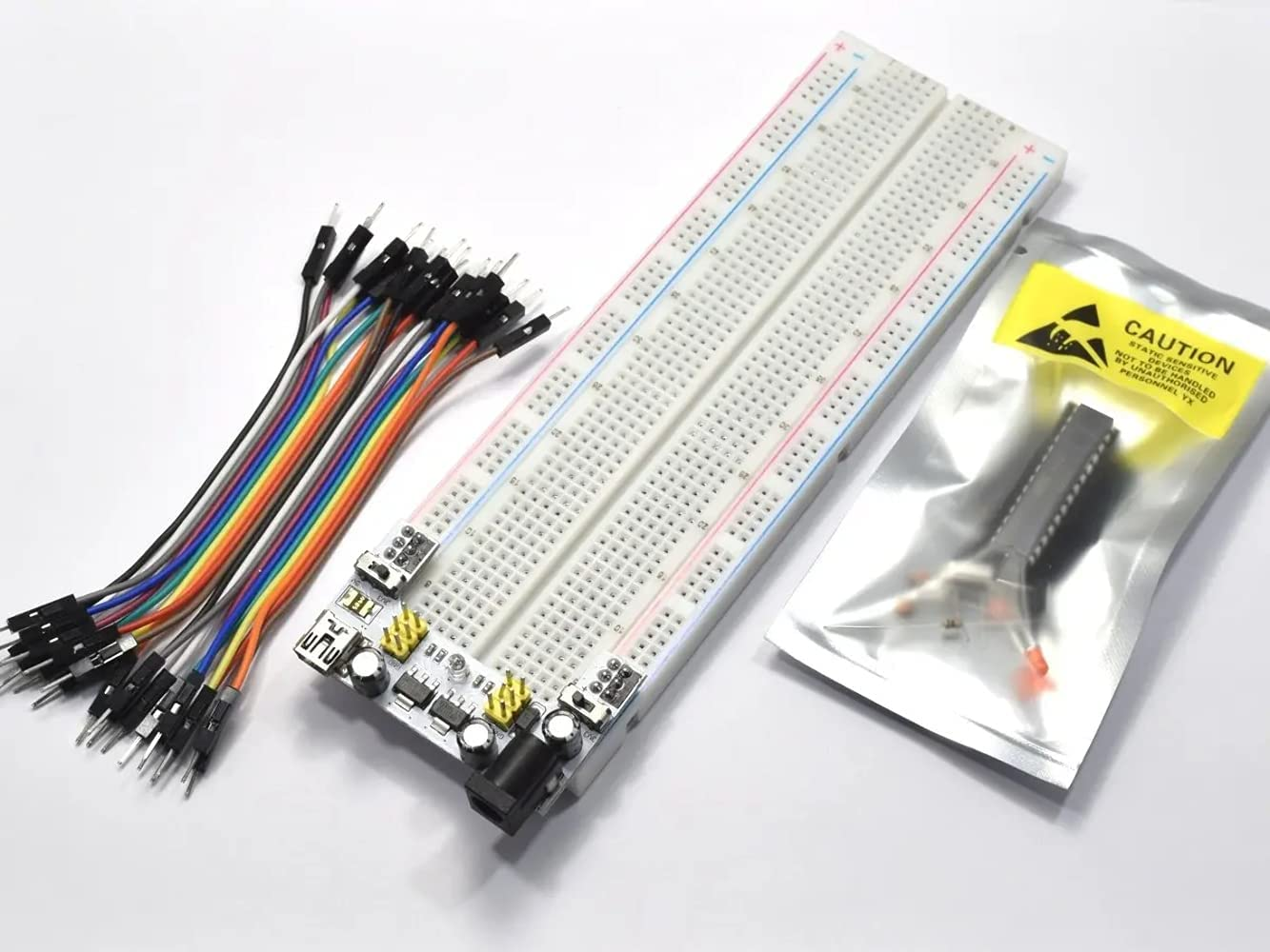 CANADUINO Parts Kit with Atmega328P-PU Arduino-On-A-Breadboa for Special Baltimore Mall price a limited time