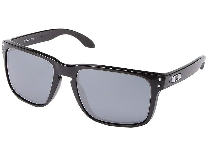 Oakley Holbrook XL (Polished Black w/ Prizm Black) Sport Sunglasses