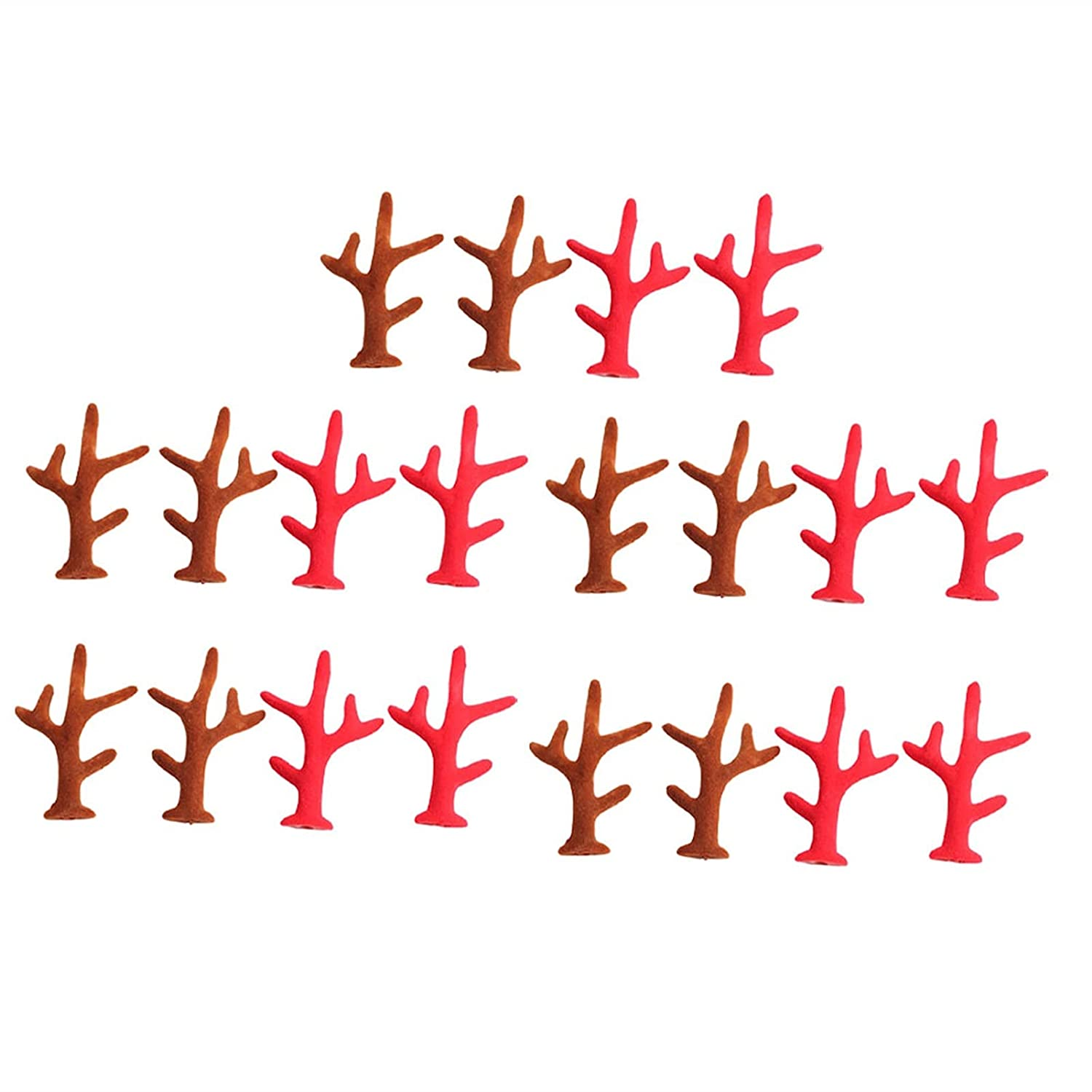 Christmas Price Ranking TOP4 reduction hairpin 10 Pairs DIY Charm Shape Charms Hairpin Antler