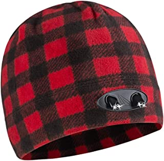POWERCAP LED Beanie Cap 35/55 Ultra-Bright Hands Free LED Lighted Battery Powered Headlamp Hat - Compression Fleece