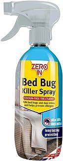 Zero En 500 ML Cama Bicho Asesino Spray, Larga Duración, Libre de Solventes, sin Olor, Base de A...