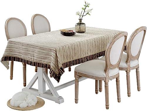 hasta un 70% de descuento Xhh Mantel Table Cove Lencería del hogar Mesa de Centro Centro Centro Rectangular Mantel Fácil de Limpiar Mantel Grueso Suave Mantel (Color   130  180CM)  mas barato
