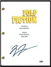 pulp fiction signed script