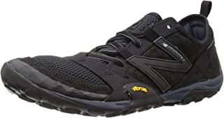 New Balance Mens MT10SB Low Top Lace Up Running Sneaker, Black/Silver, Size 11.0
