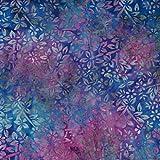 Fabric Freedom Storm Blau Design 100% Baumwolle Bali Batik Tie Dye Muster Stoff für Patchwork, Quilten &,–(Preis Pro/Quarter Meter)