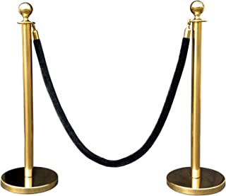 Rope Stanchion Set in 3 PCS, 72