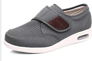 B/H Zapatos para El Hogar De Ajuste Ancho para DiabéTicos,Zapatos Deportivos de Verano para Hombres, Zapatos con cojín de ...