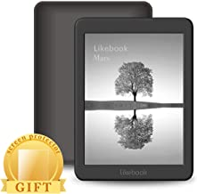 Likebook Mars E-Reader, 7.8' Carta Touch Screen,300PPI, 8Core Processor,Adjustable Built-in Warm/Cold Light, Built-in Audible, Android 6.0, Support Google Play Store 16GB