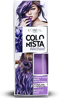 L'Oréal Paris Colorista Washout Pastel Colorazione Capelli Temporanea,Viola (Purple)