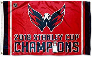 WinCraft Washington Capitals 2018 Stanley Cup Champions Outdoor Flag and Banner