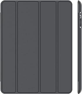 JETech Etui Kompatybilny z iPad 2 3 4 (Najstarsze Modele), Mądre Pokrywa Automatyczne Budzenie/Uśpienie, Ciemno Szary