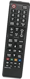ALLIMITY BN59-01199G Mando a Distancia Reemplazar Apto para Samsung FHD Smart TV UE40J5200 UE40JU6050 UE43JU6050 UE65JU6000 UE32J4570 UE55JU6070 UE65JU6050 UA65JU6000 UE48J5205 UE43JU6000 UE60JU6075