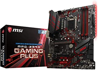 MSI MPG Z390 GAMING PLUS - Placa base Performance (LGA 1151, 2 x PCI-E 3.0 x16, Audio Boost, 2 x USB 3.1 Gen2, Twin Turbo M.2, PCI-E Steel Armor)