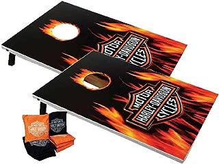 Harley-Davidson 66279 Flame Bar and Shield Bean Bag Toss