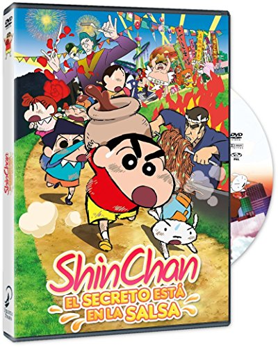 Shin Chan: El Secreto Está En La Salsa [DVD]