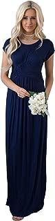 Jen Clothing Athena Modest Maxi Dress or Modest Bridesmaid Dress
