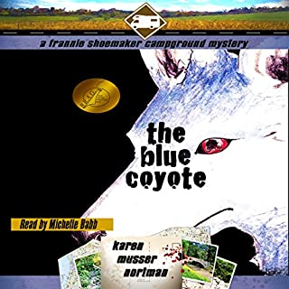 The Blue Coyote audiobook cover art