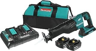 Makita XRJ06PT-R 18V X2 LXT Lithium-Ion (36V) Brushless Cordless Recipro Saw Kit (5.0Ah) (Renewed)