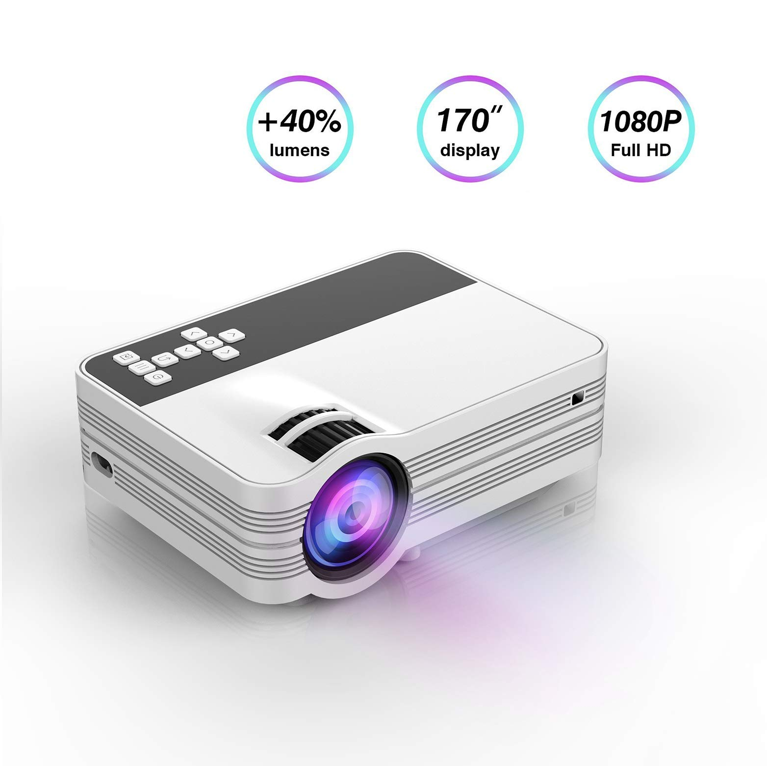 Projector Technology Portable Multimedia Entertainment