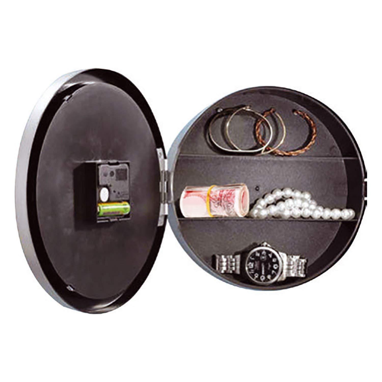 Sentik - Reloj de pared con caja fuerte oculta: Amazon.es: Hogar