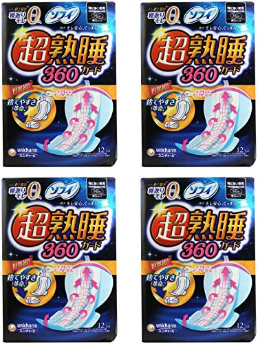 【まとめ買い】ソフィ 超熟睡ガード 360 12枚(...