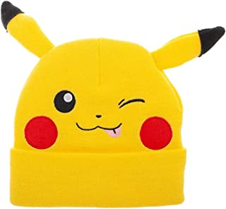 Pikachu Beanie Pokemon Hat Pikachu Knit Hat Pokemon Beanie Pikachu Hat
