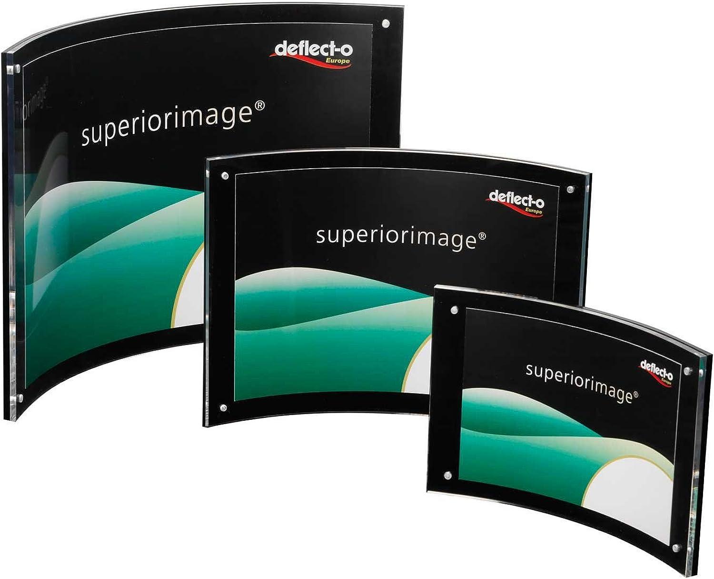 Deflecto Prospekthalter A4quer B00MWTRBUY | Verschiedene Stile Stile Stile und Stile  bfbfda
