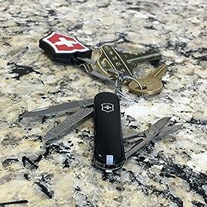 Victorinox Swiss Army Classic SD Pocket Knife, Black, 58mm