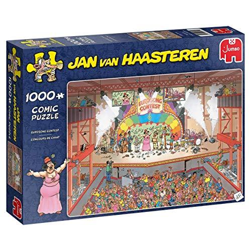 Jumbo 20025 Jan Van Haasteren Eurosong Contest 1000 Teile Puzzle