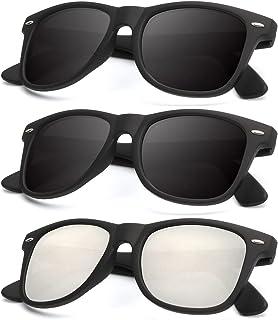 Polarized Sunglasses for Men and Women Matte Finish Sun glasses Color Mirror Lens 100% UV...