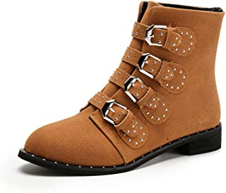 Super bang Women Comfortable Western Booties Chunky Heel Pointed Toe Stylish Ankle Boots