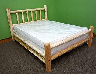 Midwest Log Furniture - Premium Log Bed - King