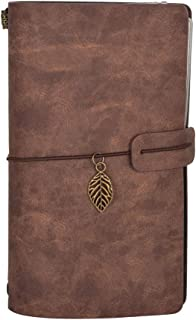 B fit USA Leatherette Journal Planner Personal Organizer to Achieve Goals, Improve Productivity for Business Meetings (Brown)