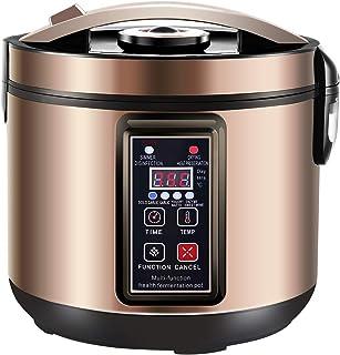 Best 6L Black Garlic Fermenter, Kimchi machine,Sweet Rice Wine Maker Full Automatic,Natto Maker,Yogurt Pot - MLGB Review