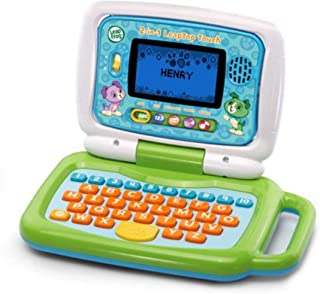 Léapfròg.. 2-in-1 Kids Leaptop Touch with Five Learning Modes in Green