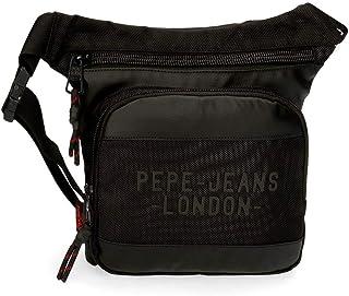Riñonera Pepe Jeans Bromley Cuadrada Negra