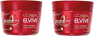 L'Oréal Paris Hair Expert Color Vibrancy Intensive Ultra Recovery Mask, 8.5 Ounce (Pack of 2)