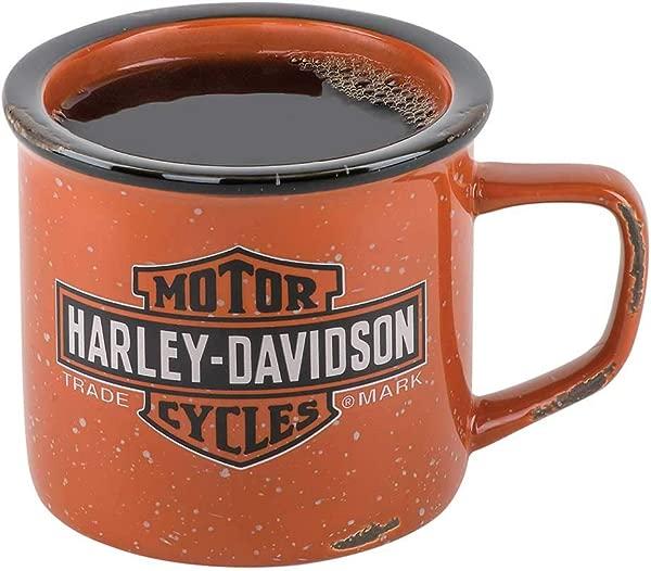 哈雷戴维森商标酒吧标志篝火杯 14 盎司 HDX 98620