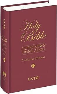 Holy Bible: Good News Translation, Catholic Edition