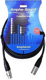 LA7099 Amphenol 9M XLR Extension Lead Plug to Socket CA01-02-a-009,