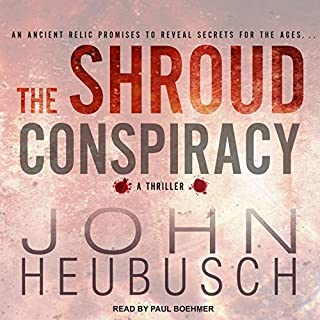 The Shroud Conspiracy audiobook cover art
